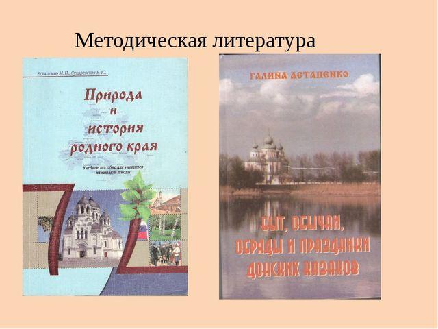 Методическая литература