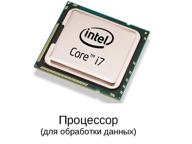 Процессор (для обработки данных)