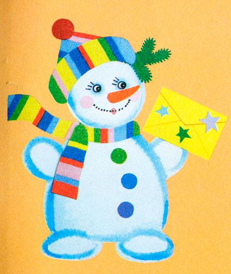 Новогодние поделки своими руками дети 4 лет