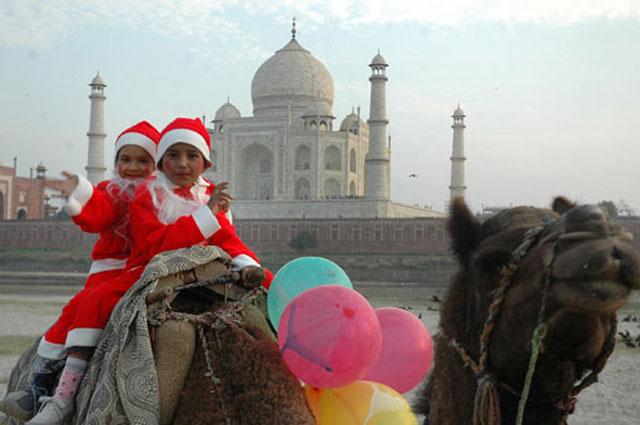 Новый год с ребенком в индии