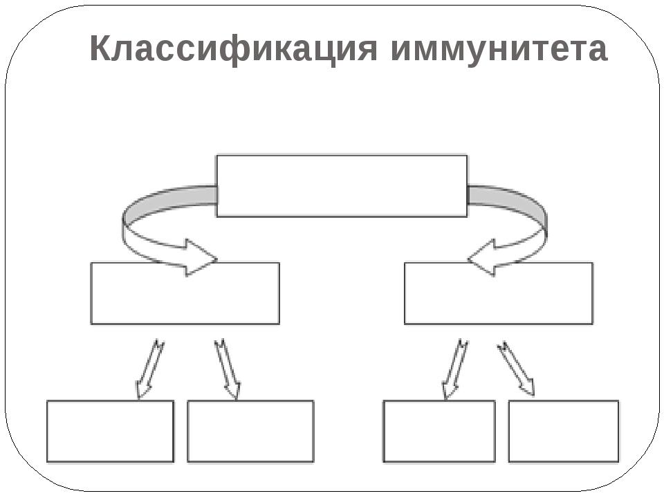 Классификация иммунитета