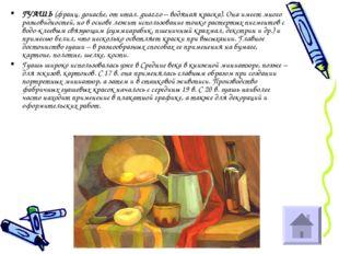 ГУАШЬ (франц. gouache, от итал. guazzo – водяная краска). Она имеет много раз