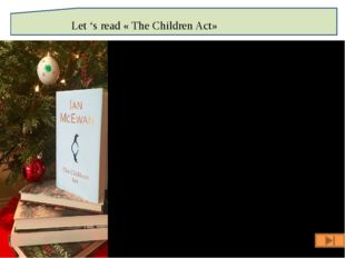 Let 's read « The Children Act»