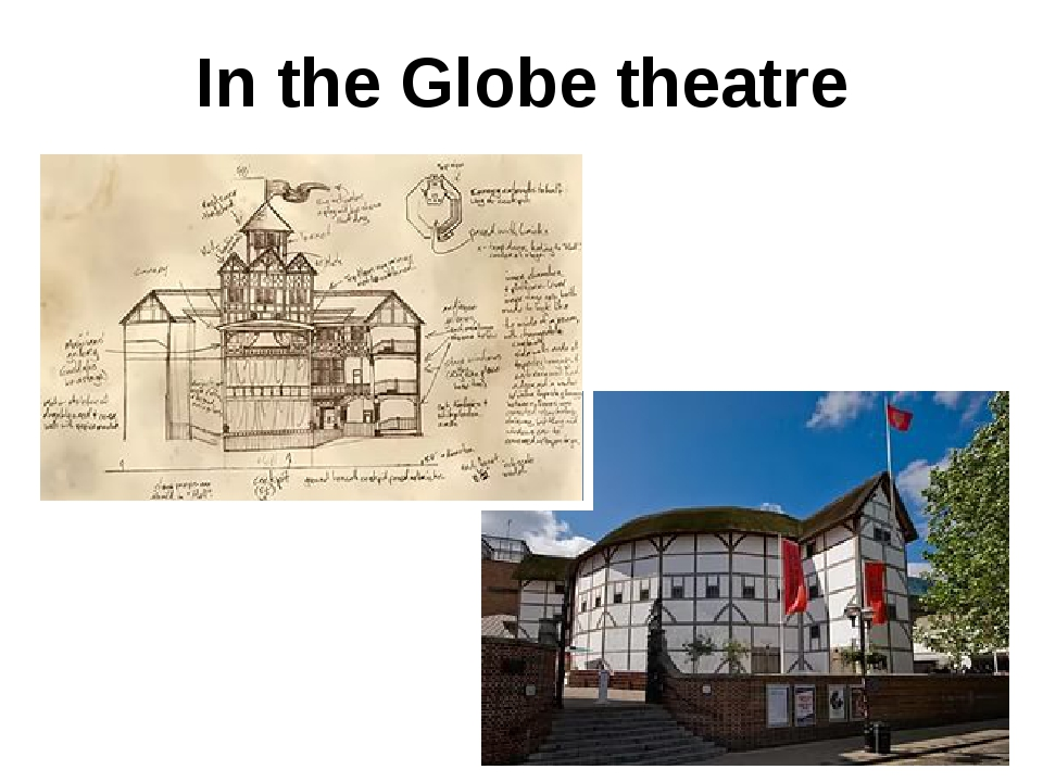 In the Globe theatre