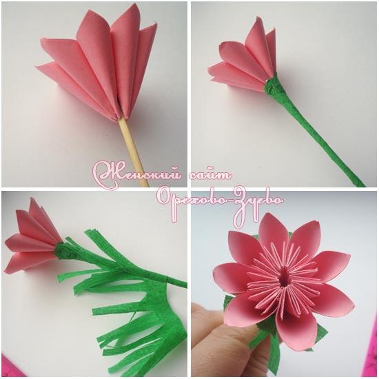 Цветы и подарки из бумаги своими руками