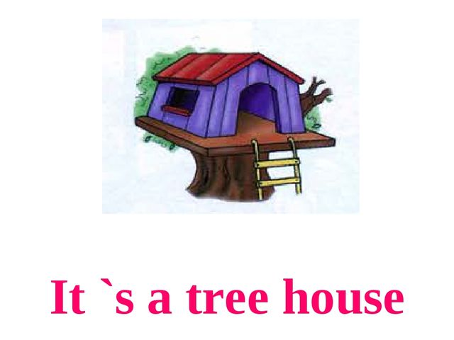 It `s a tree house
