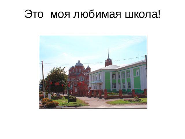 Это моя любимая школа!