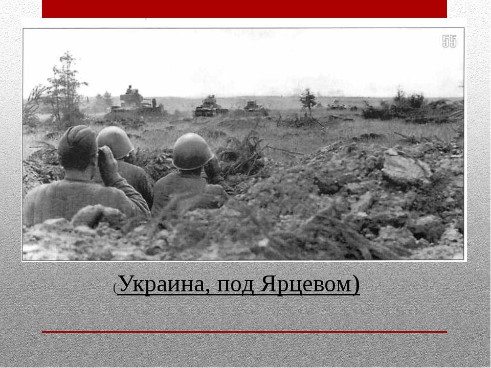 (Украина, под Ярцевом)