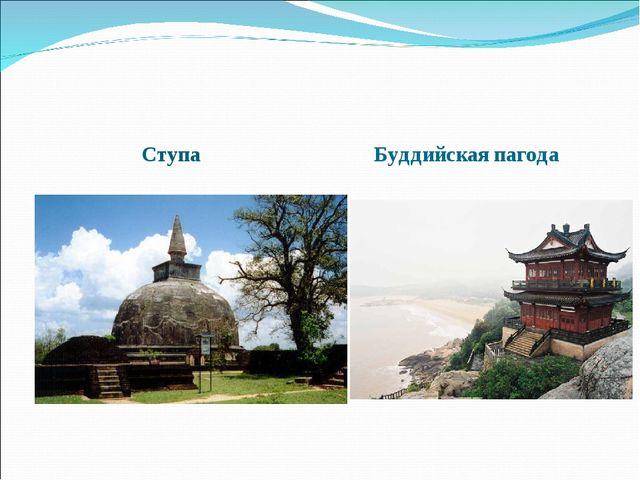 Ступа Буддийская пагода