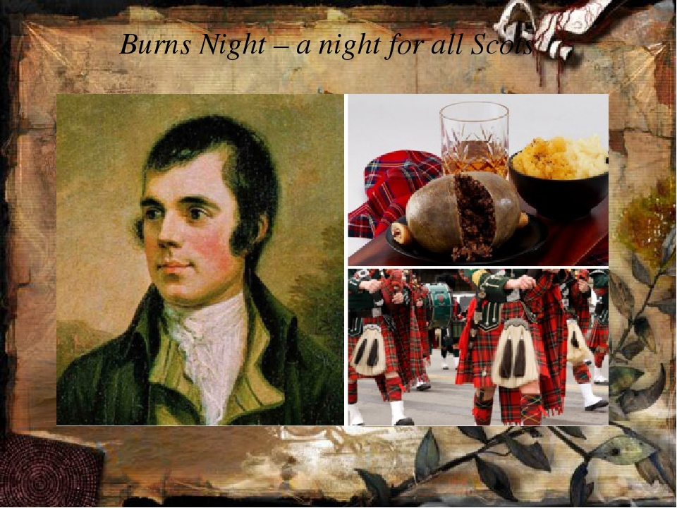 Burns Night – a night for all Scots