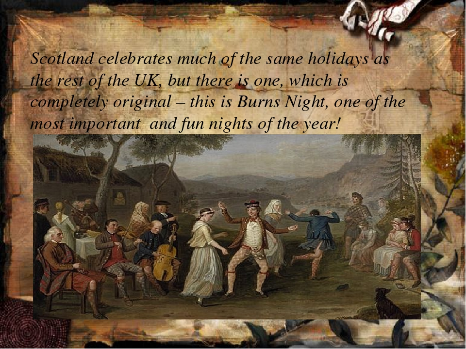 Scotland celebrates much of the same holidays as the rest of the UK, but the...