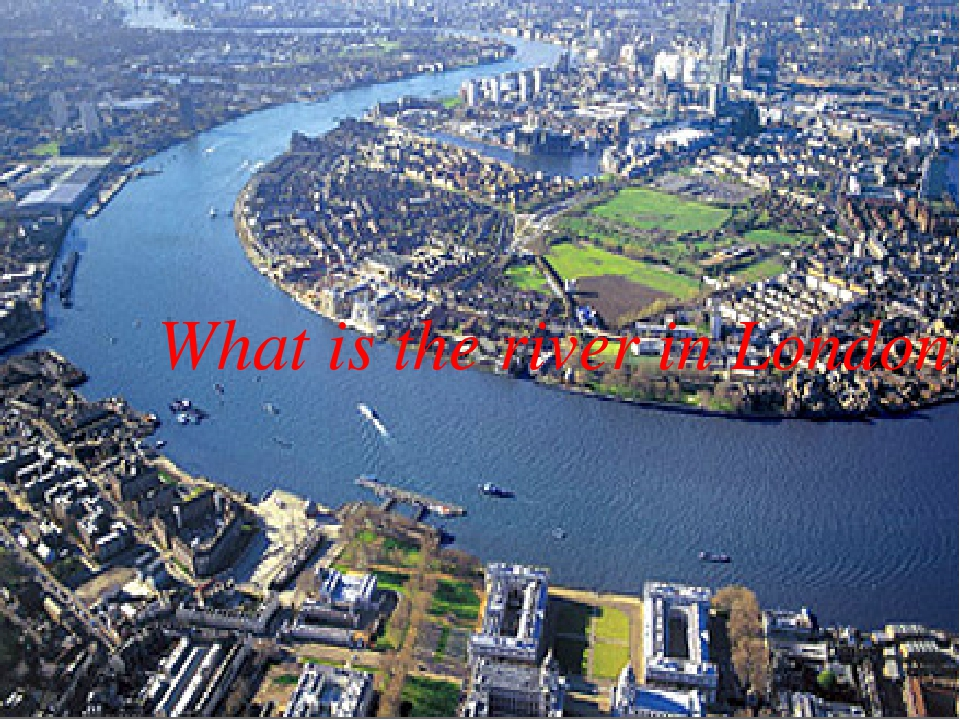 What is the river in London?