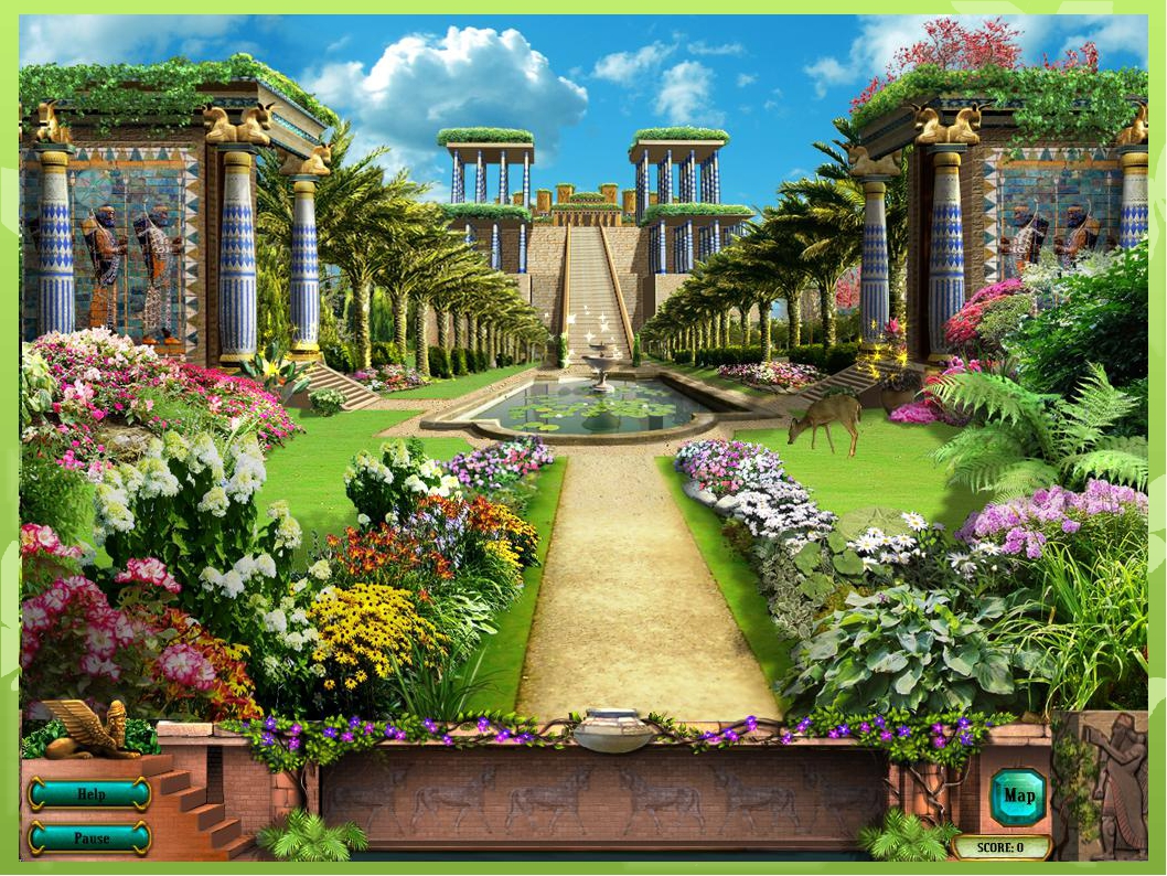 Hanging Gardens of Babylon - Wikipedia Babylonian hanging garden pictures