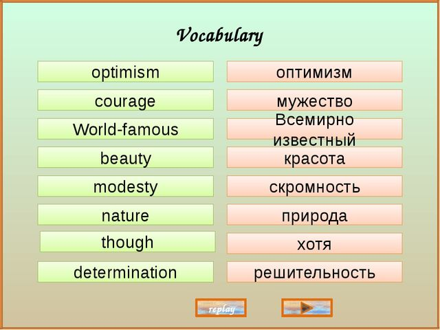 optimism courage World-famous beauty modesty though nature determination опти...