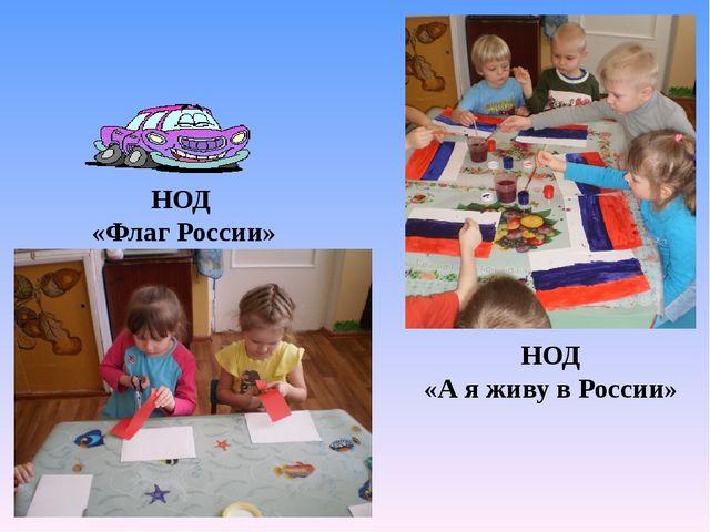 НОД «Флаг России» НОД «А я живу в России»