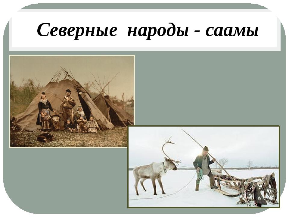 Северные народы - саамы