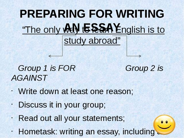 study local and study abroad english essay