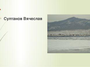 Султанов Вячеслав