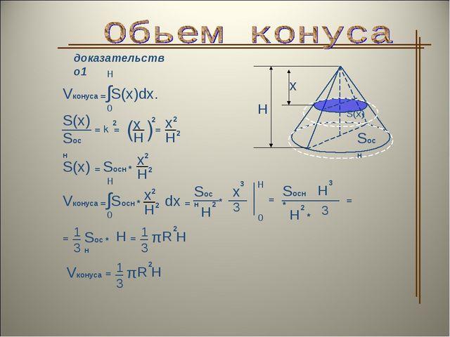 доказательство1 Vконуса