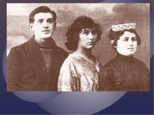 Салих Сәйдашев, Зәйнәп Әхмәрова, Әминә Сәйдәшева. 1923 ел