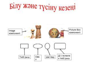 Image компоненті Picture Box компоненті Тікбұрыш Овал Шеңбер Дөңгеленген тікб