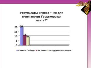 Существуют различные мнения о символике Георгиевской ленты.