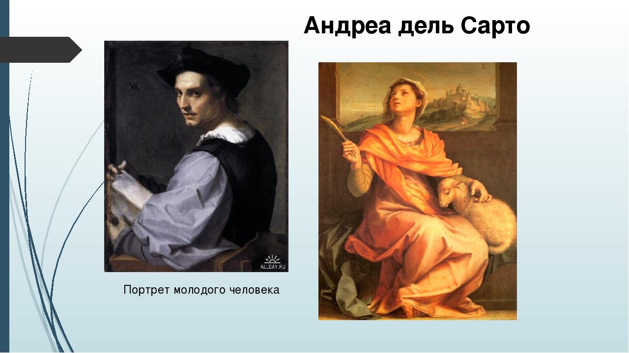 Андреа дель Сарто Портрет молодого человека