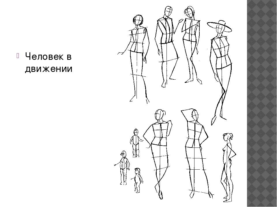 План конспект изобразительного исскуства фигура человека в движении 3класс