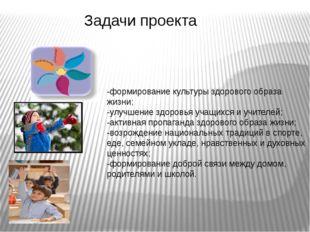 -формирование культуры здорового образа жизни; -улучшение здоровья учащихся и