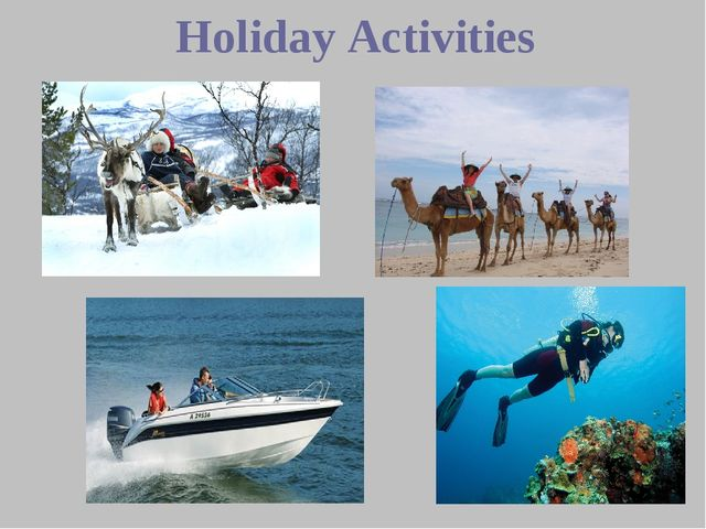 Holiday Activities