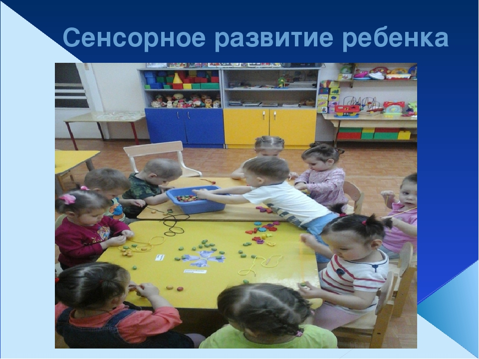 Сенсорное развитие ребенка