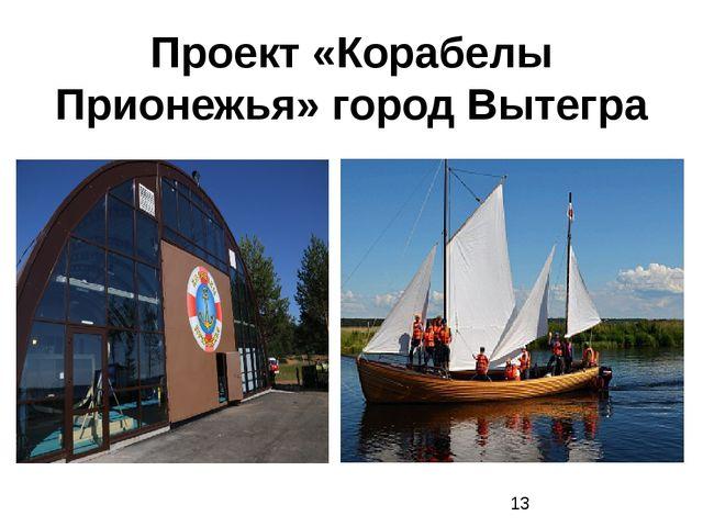Проект «Корабелы Прионежья» город Вытегра