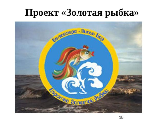 Проект «Золотая рыбка»