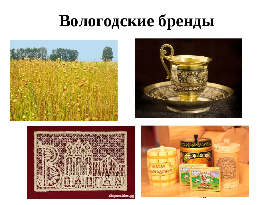 Вологодские бренды