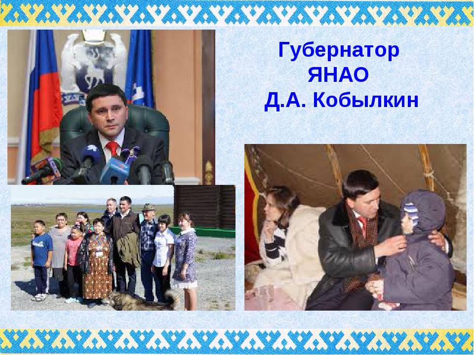Губернатор ЯНАО Д.А. Кобылкин