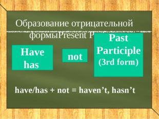 Write the sentences in the Present Perfect We played 've tennis. / / / My fri