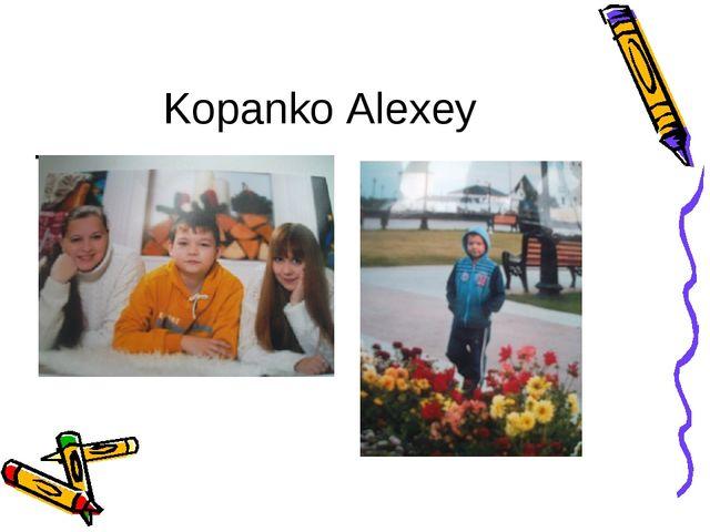. Kopanko Alexey