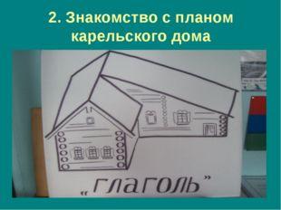 2. Знакомство с планом карельского дома