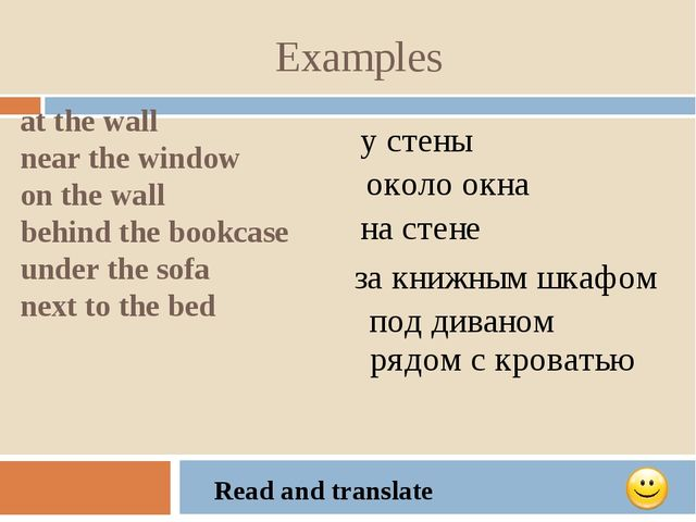 Examples at the wall near the window on the wall behind the bookcase under th...