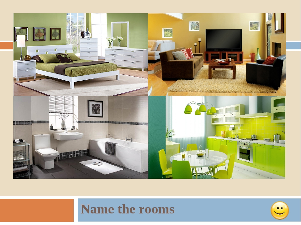 Name the rooms