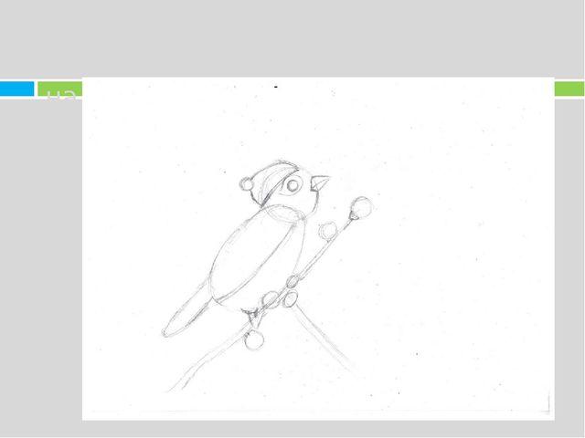 6. Далее рисуем зрачок и бутоны.