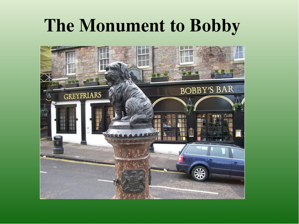 The Monument to Bobby
