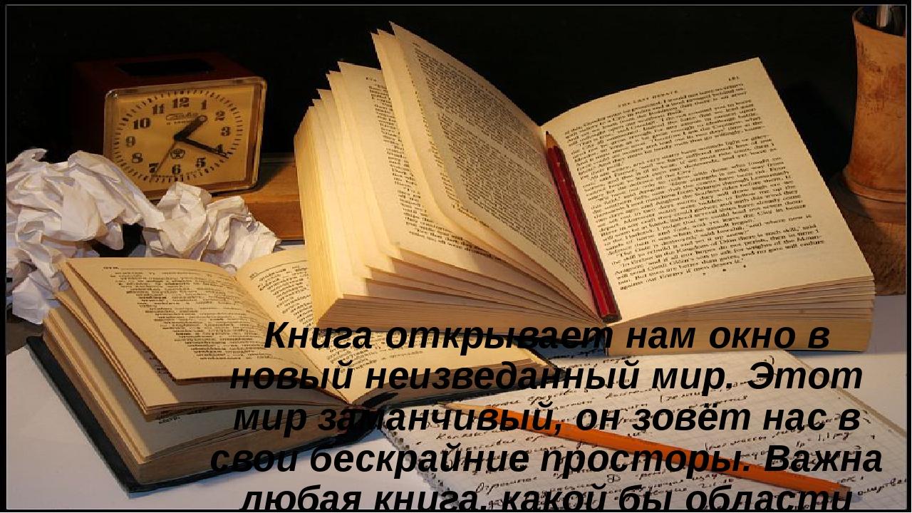 Книга открывает нам окно в новый неизведанный мир. Этот мир заманчивый, он з...