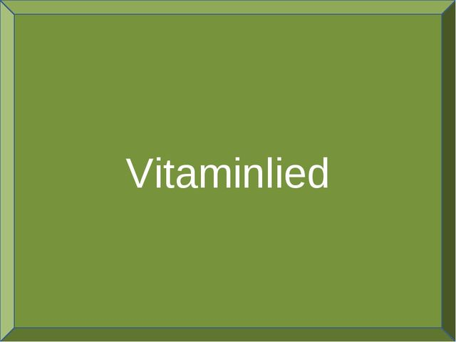 Vitaminlied
