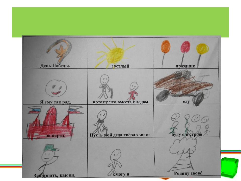 Работы детей «На парад»