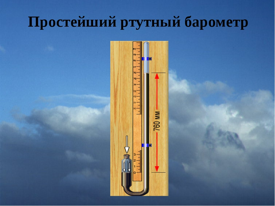 картинка ртутного барометра канадец