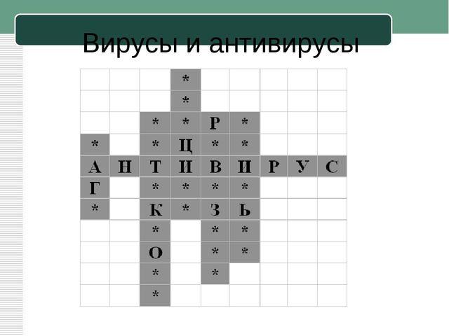 Вирусы и антивирусы