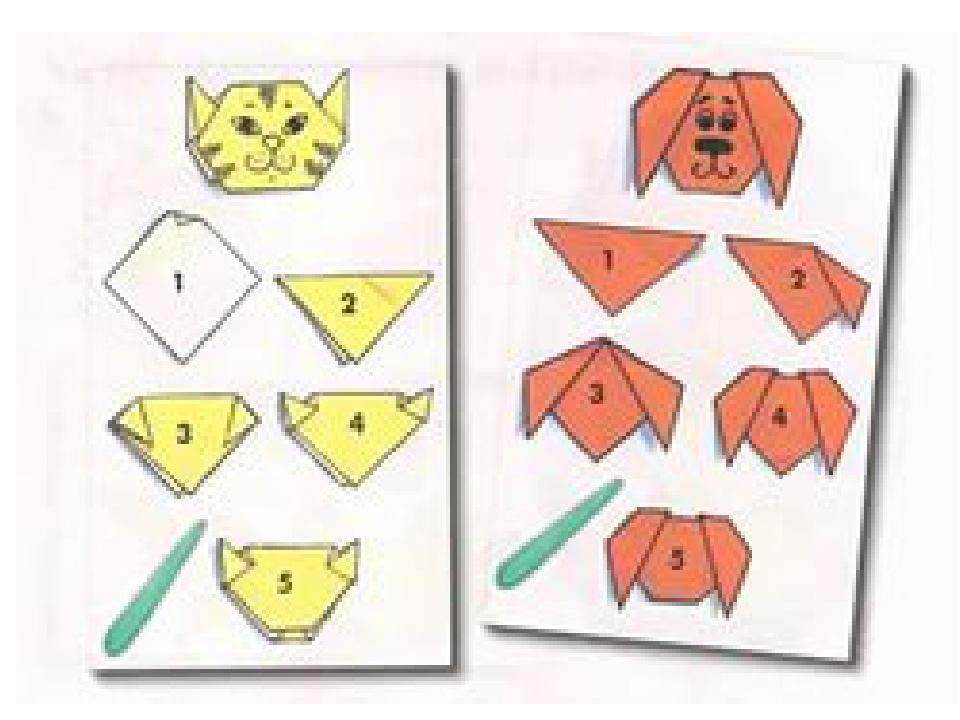 Как сделать игрушки из бумаги поэтапно