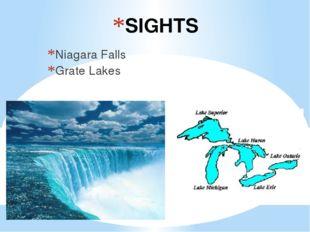 SIGHTS Niagara Falls Grate Lakes