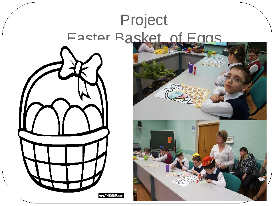 Project Easter Basket of Eggs